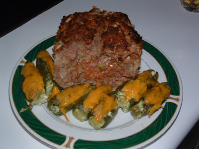 Meatloaf with a BIGGER Kick, & Avocado Stufffed Cheddar ...