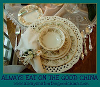 Always Eat On The Good China2